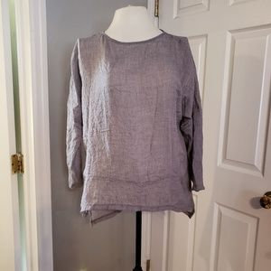 NWT gray summer blouse